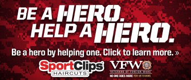 Sport Clips Haircuts of Reynoldsburg​ Help a Hero Campaign